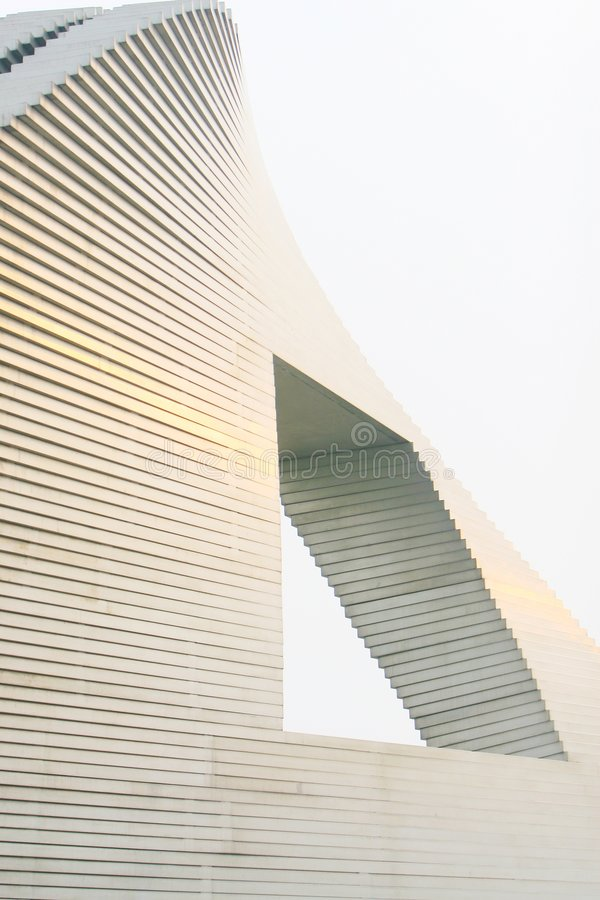 The modern building. In beijing of china royalty free stock images