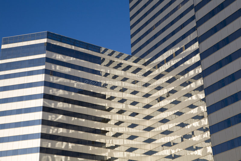 Modern building. Image of a modern building in BEIJING royalty free stock photography