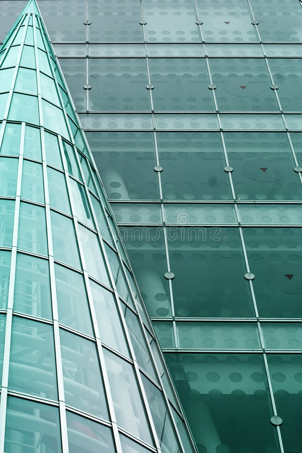 Modern building abstract stock photography