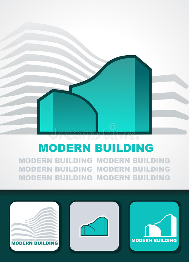 Download Modern building background stock vector. Image of icon - 23606736