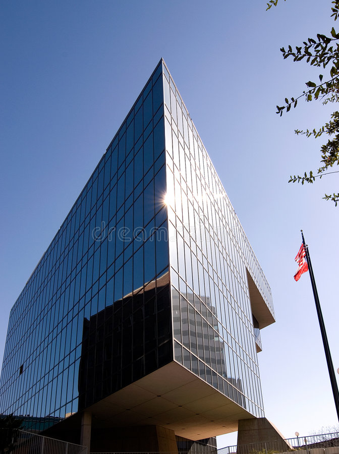Modern Building and Blue Sky stock image