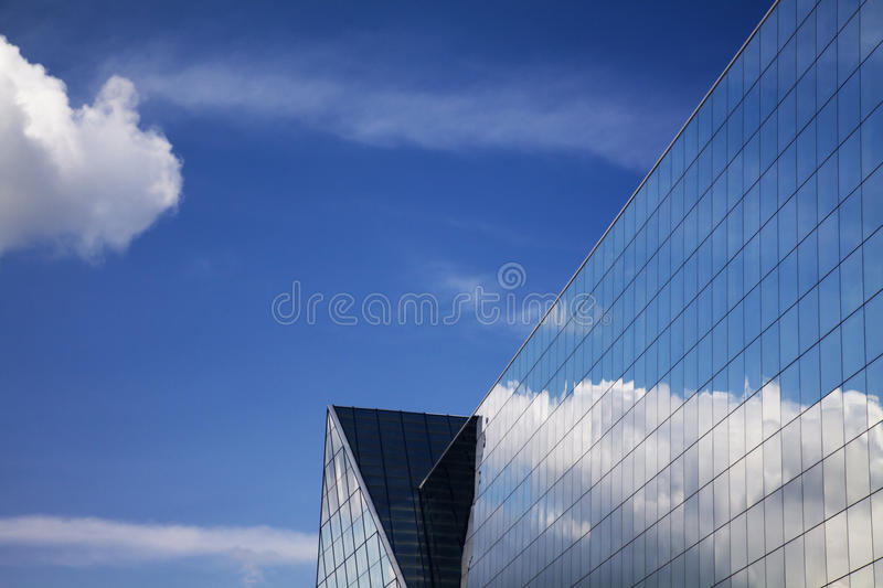 Download Modern Building And Blue Sky Reflection Stock Photo - Image: 14335968