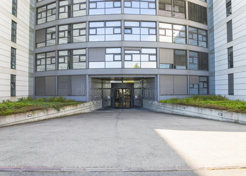 Modern building in cern royalty free stock photography