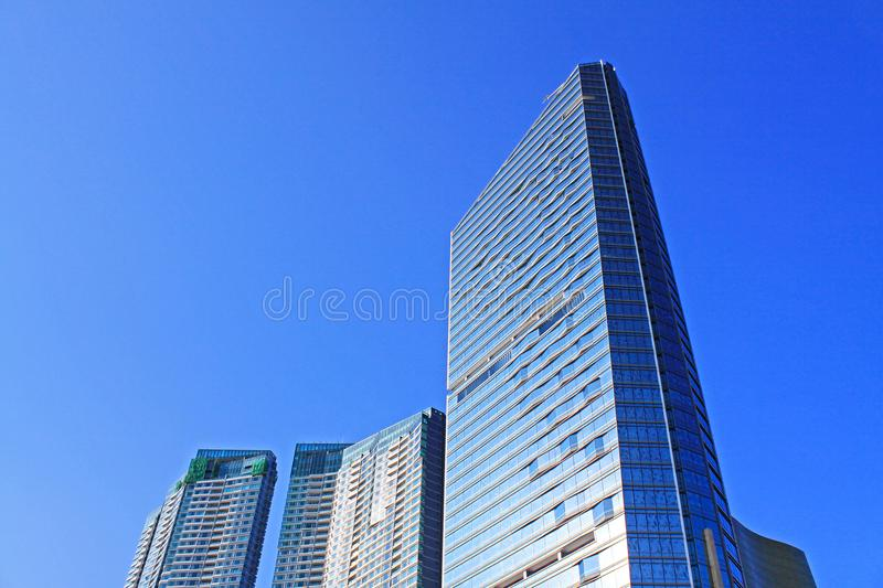 Macau Modern Building and Cityscape, Macau, China royalty free stock images