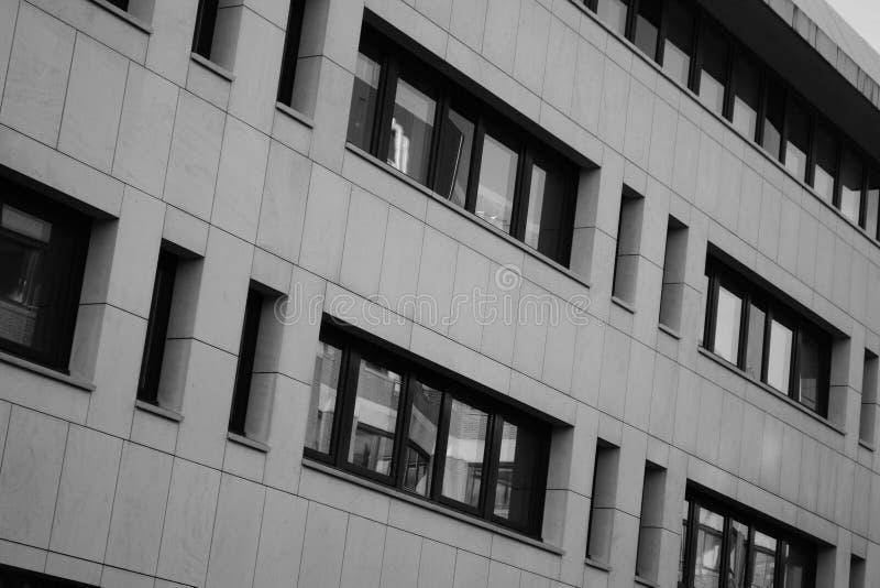 Modern building in Den Haag stock photos