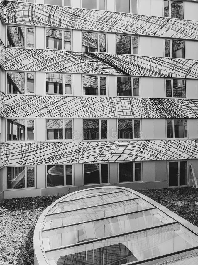 Free Modern Building Design Stock Photos - 118857003