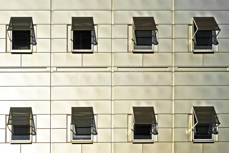 Modern building details royalty free stock image