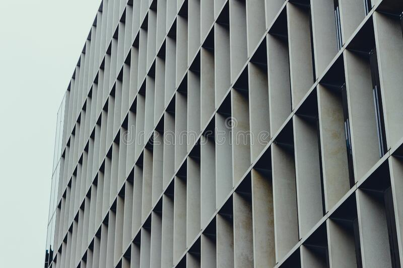 Modern building facade royalty free stock photography