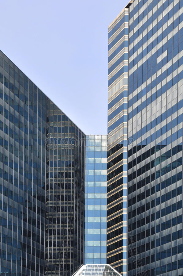 Modern building facades royalty free stock photo