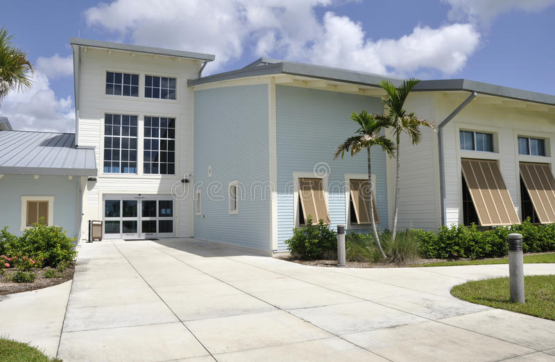 Modern building in Florida royalty free stock photography