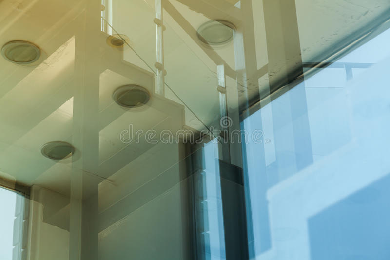 Modern building glazed royalty free stock photography