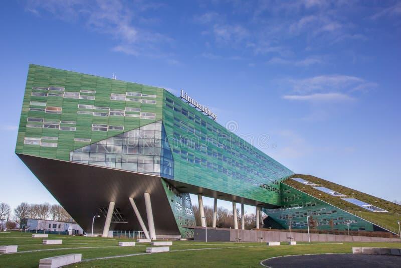Modern building of the Groningen university royalty free stock photo