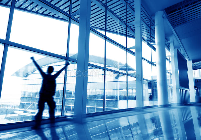 Download Modern building interior stock photo. Image of international - 20080016