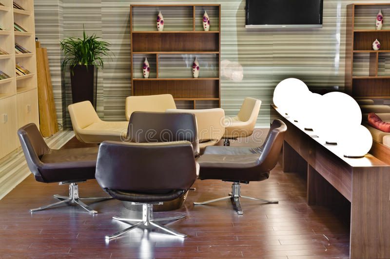 Download Modern Building Lobby Lounge Stock Image - Image: 24834723