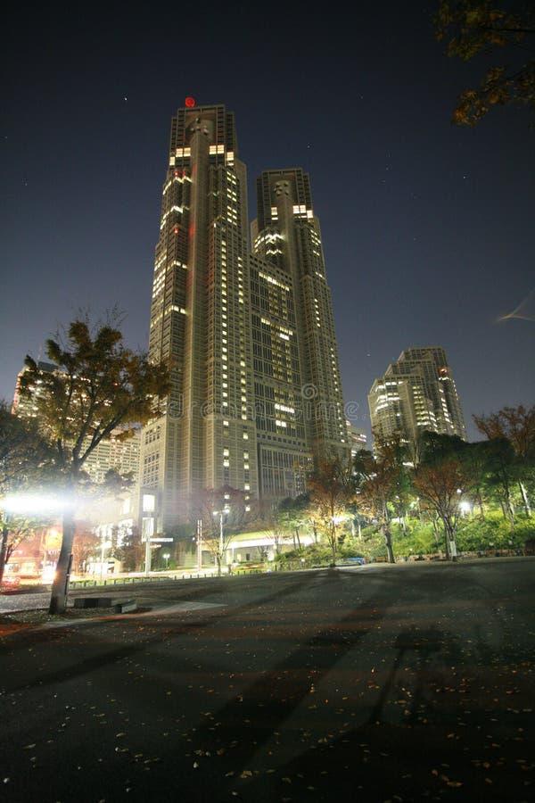 Download Modern building at night stock image. Image of urban, shanghai - 4056091