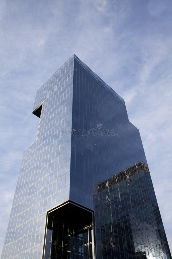 Modern Building Oblique stock photos