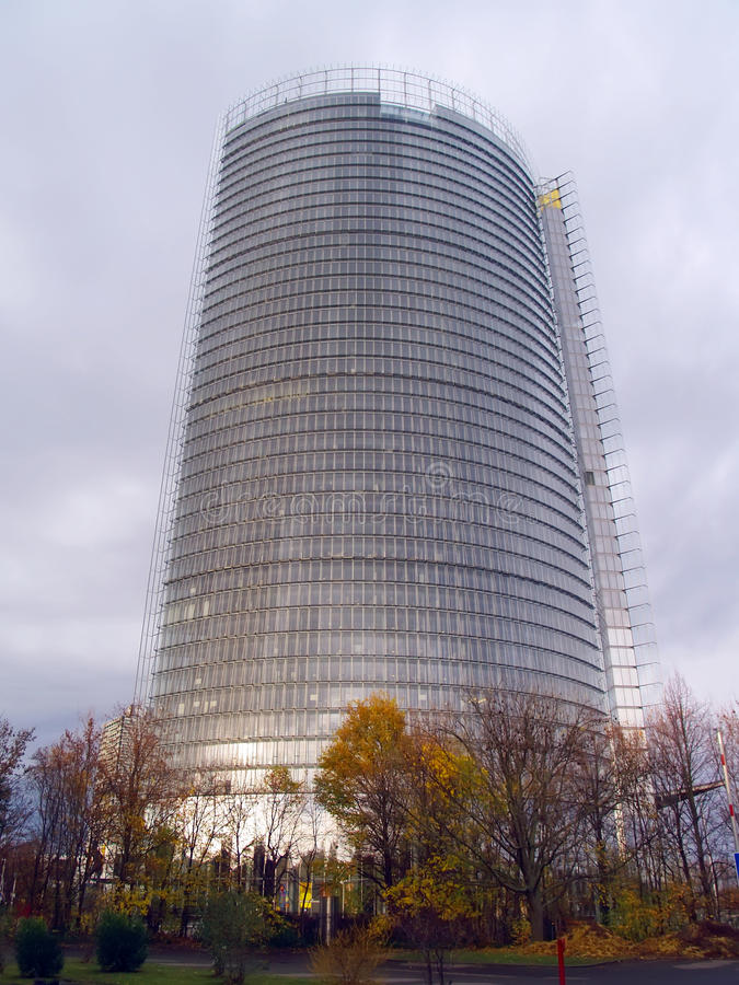 Modern Building Post-Tower In Bonn Stock Images