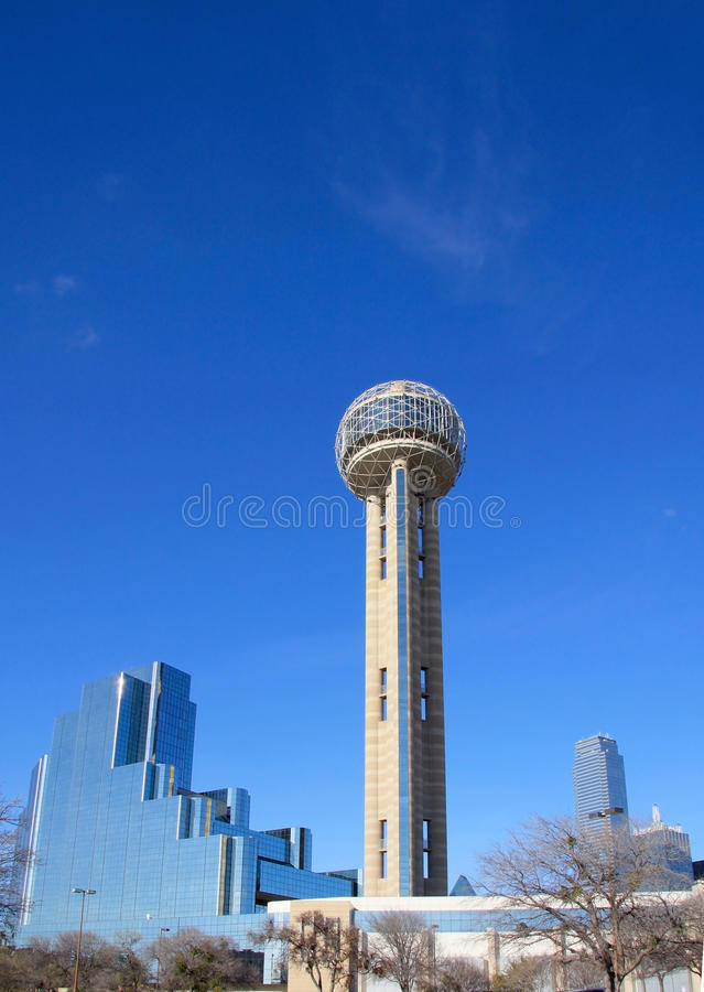Download Modern Building And Reunion Tower In Dallas Stock Photo - Image: 23629380