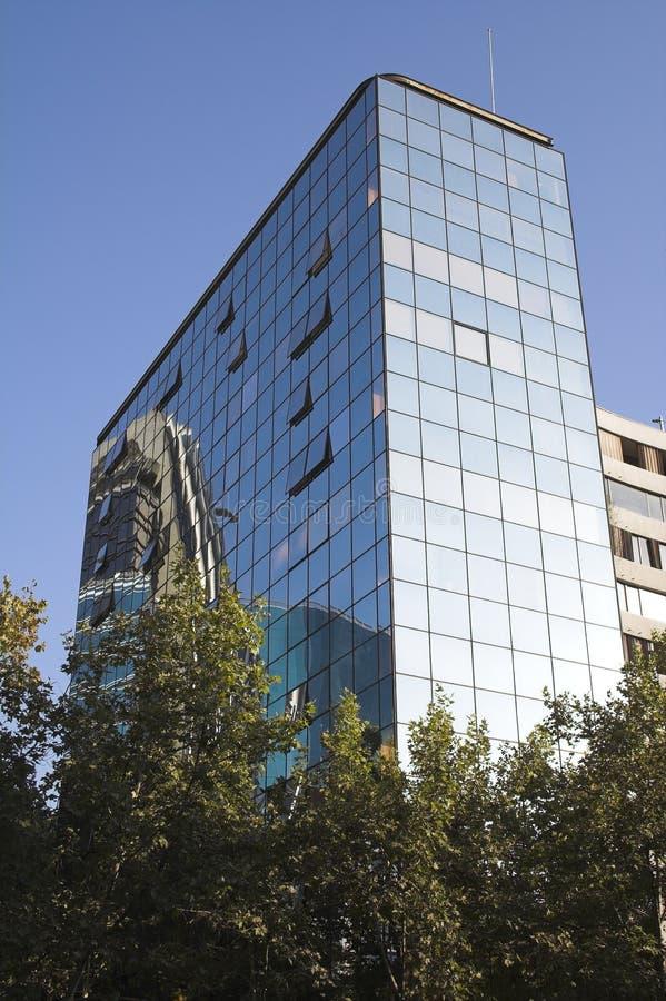 Modern Building Santiago de Chile royalty free stock images