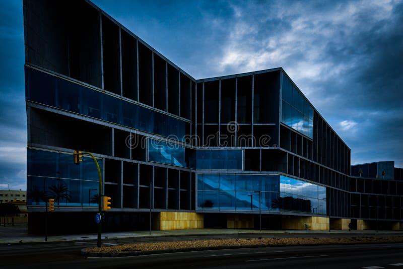 Modern building in Spain stock image