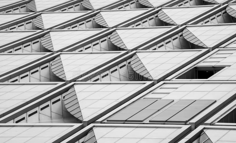 Modern Building Texture stock images