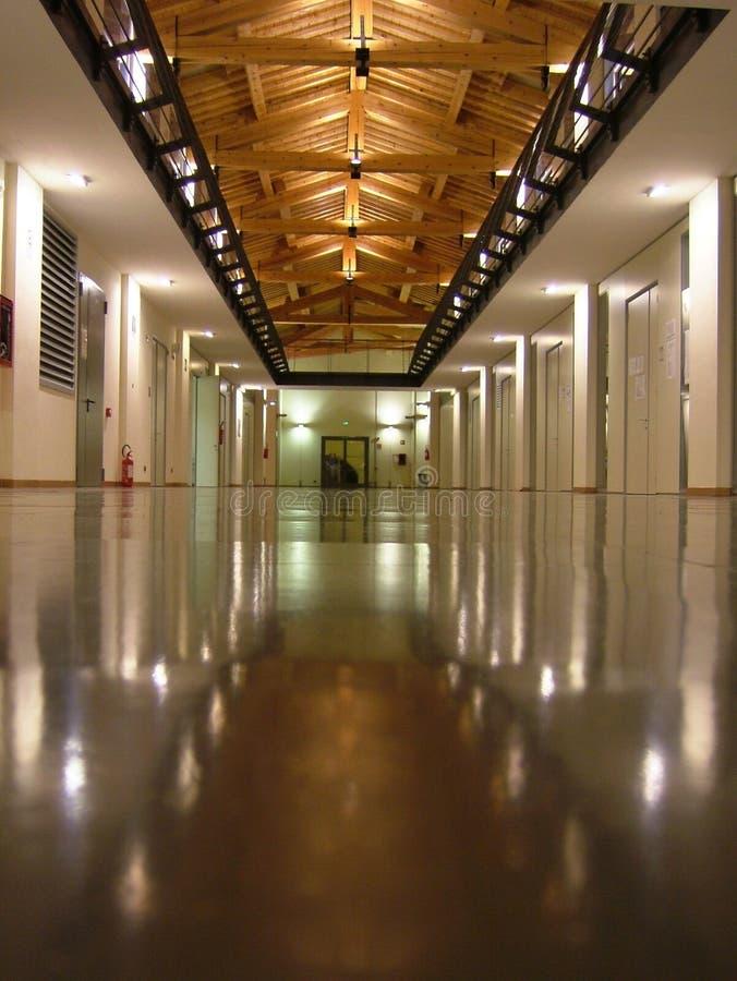 Modern building - University of Modena e Reggio Emilia royalty free stock photography
