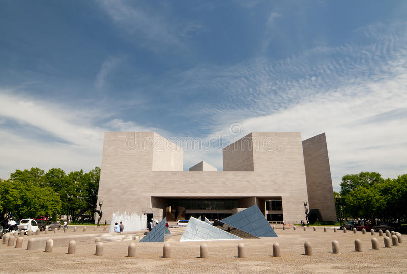 Download Modern Building--US National Gallery Of Art Editorial Stock Image - Image of exterior, angle: 14179094