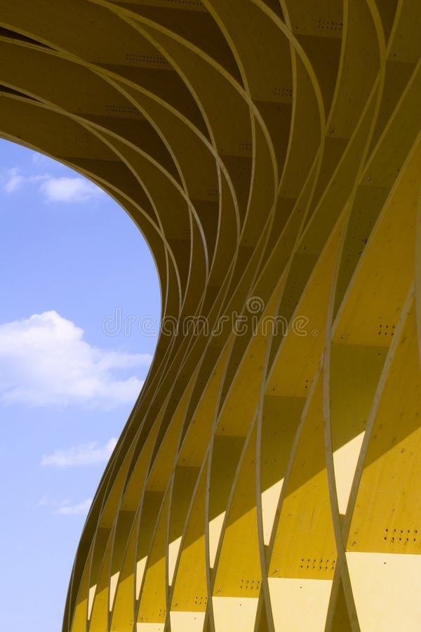 Modern building from vienna stock photo