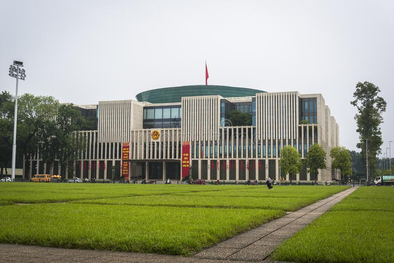 Vietnam Parliament House, Hanoi, Vietnam stock photo
