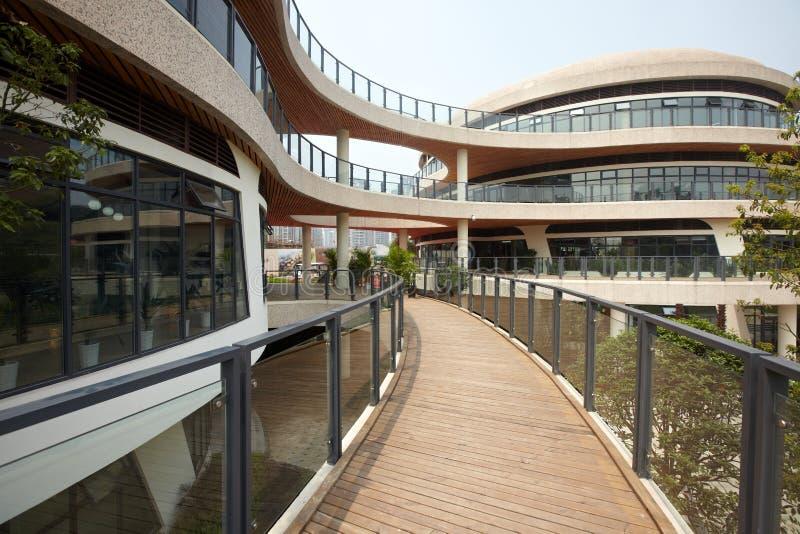 Download Modern buildings stock image. Image of chongqing, circle - 14718227