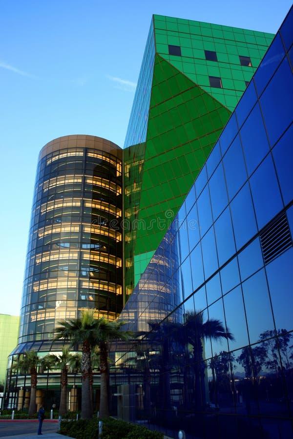 Modern buildings stock photo