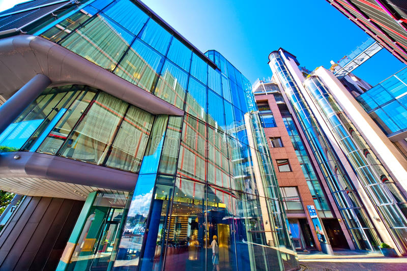 Download Modern buildings stock photo. Image of urban, futuristic - 25232528