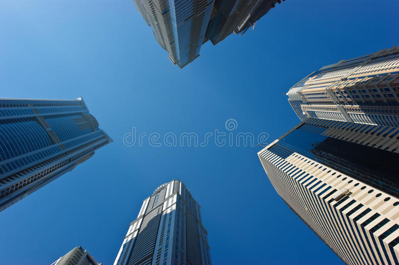 Download Modern buildings stock photo. Image of emirates, finance - 27907156