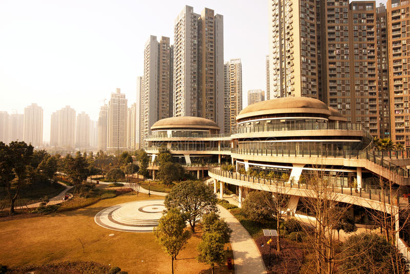 Download Modern buildings stock image. Image of park, chongqing - 28416649