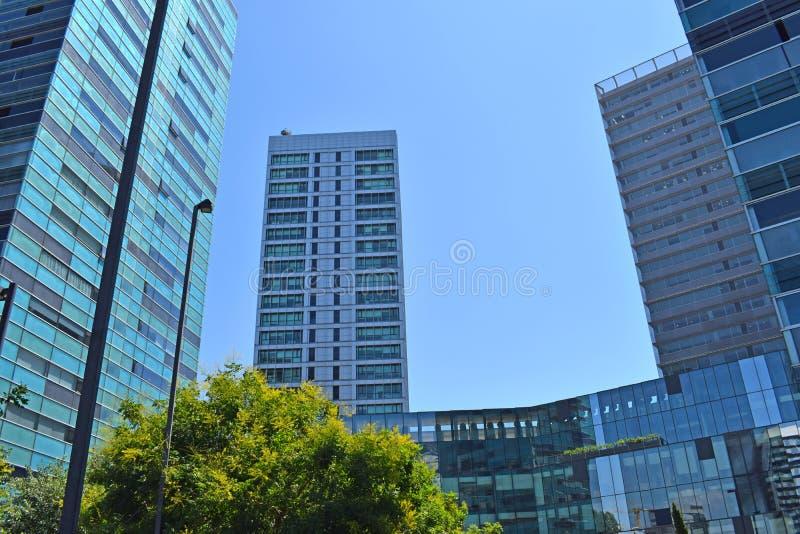 Modern buildings in Barcelona. Catalonia Spain stock image