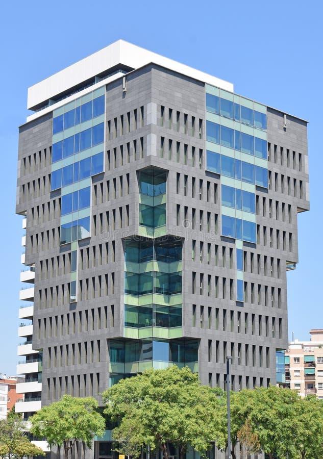 Modern buildings in Barcelona. Spain stock photography