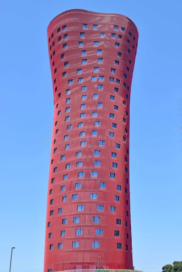Modern buildings in Barcelona. Spain stock photos
