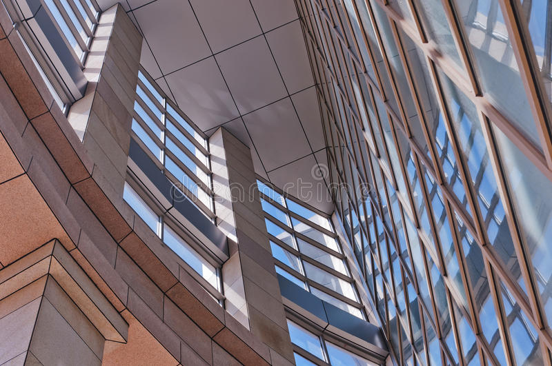 Download Modern buildings  detail stock photo. Image of nobody - 25654342