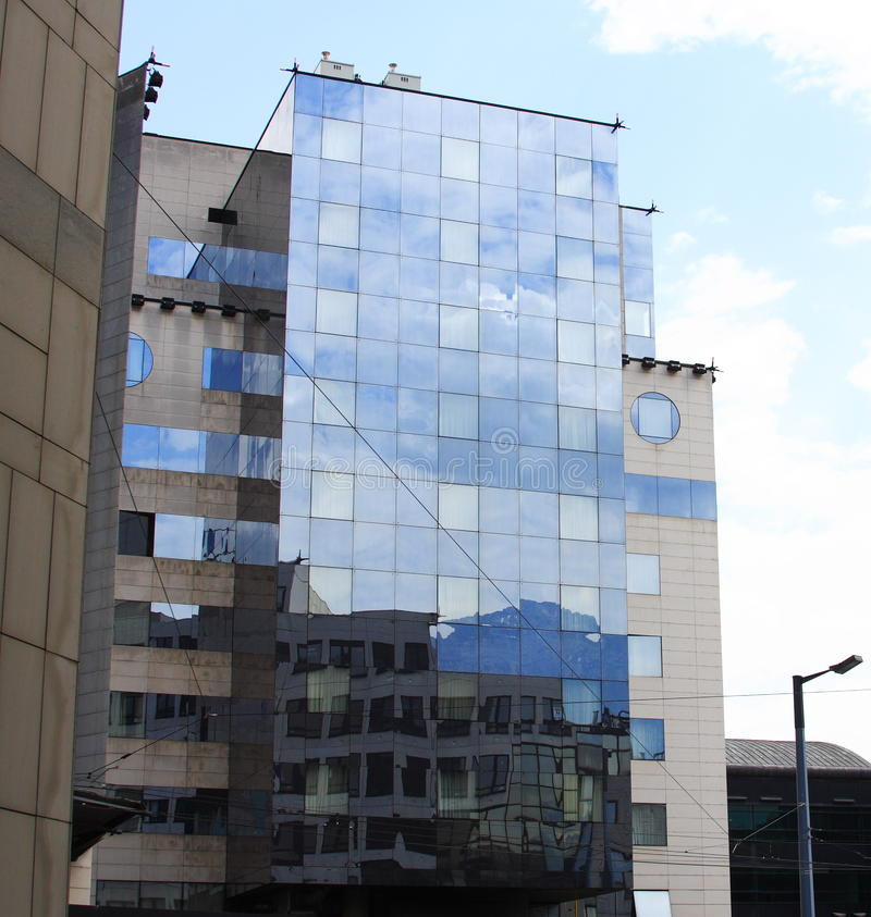 Modern Buildings, France Stock Photography