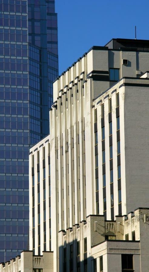 Modern buildings in Montreal