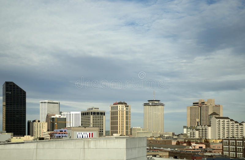 Modern Buildings In New Orleans Editorial Stock Image