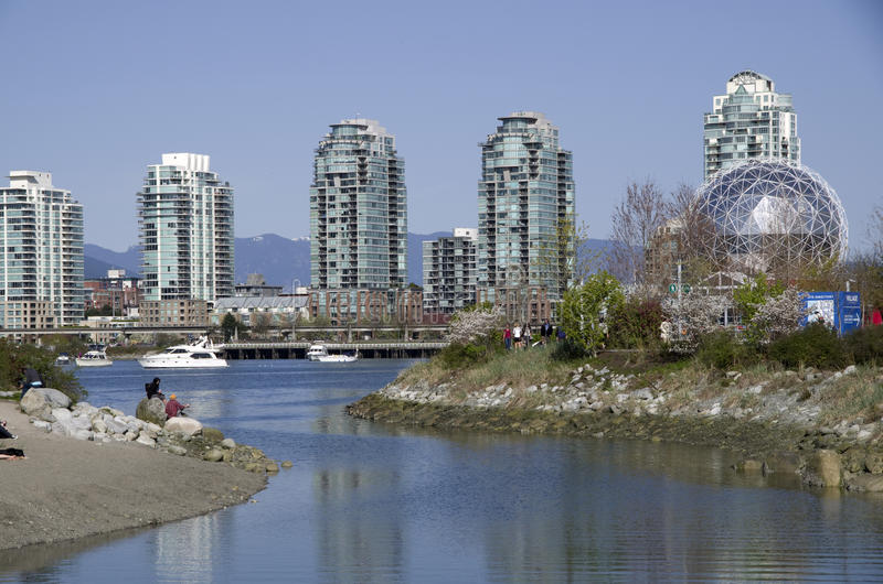 Download Modern Buildings Vancouver Editorial Photography - Image: 39828477