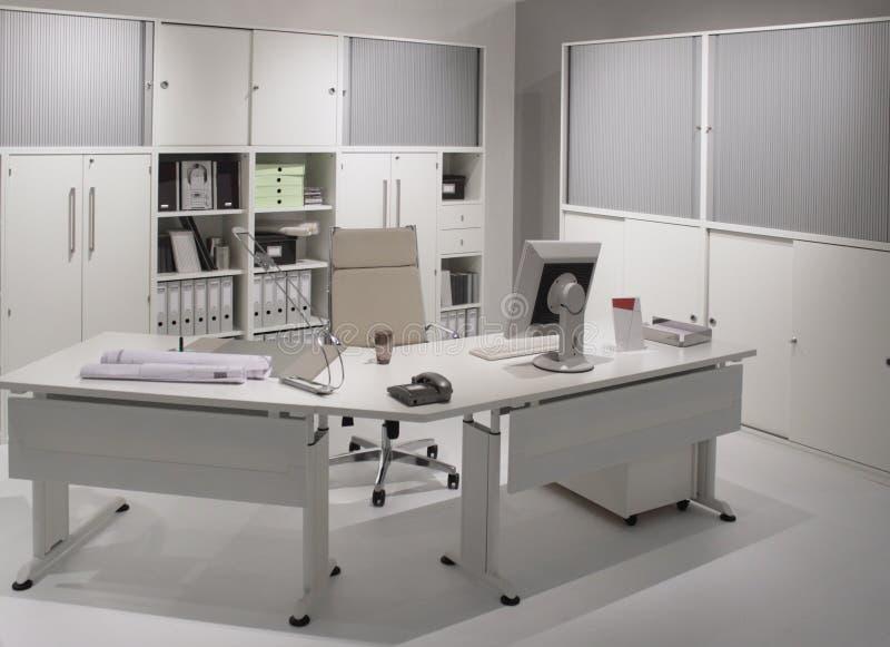 Modern bureau binnenlands ontwerp. stock afbeeldingen