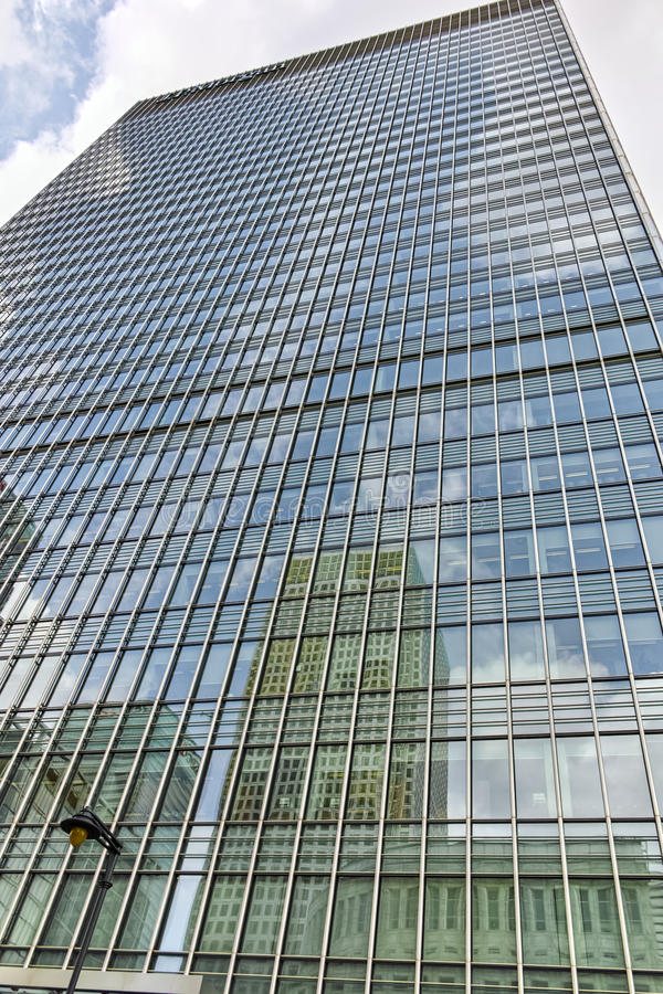 Modern business building in City of London, England stock photo