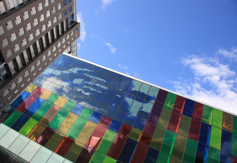 Download Modern business buildings stock photo. Image of design - 5504208