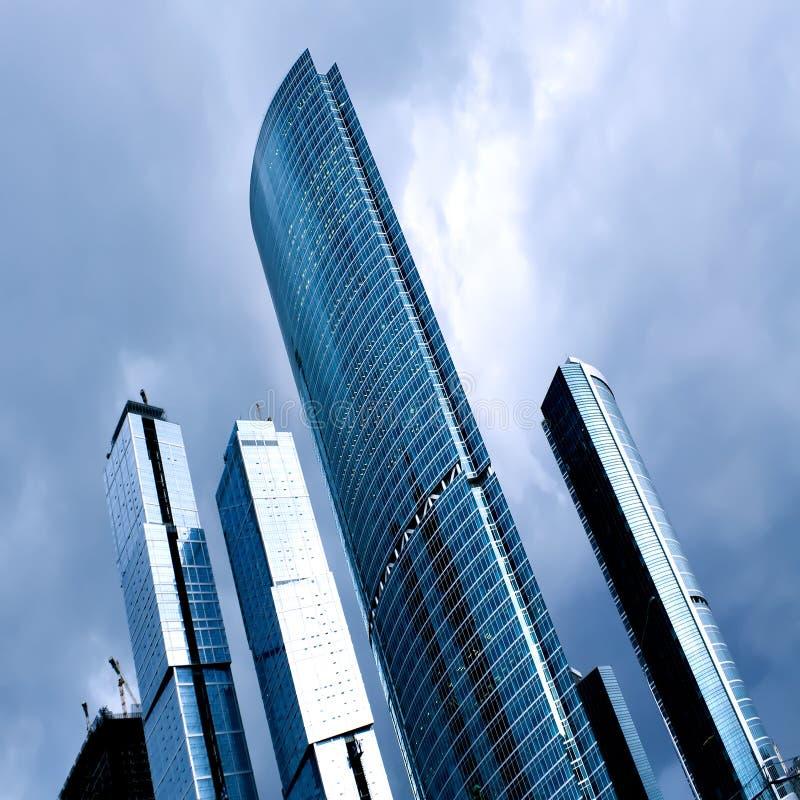 Download Modern business center stock image. Image of dark, dusk - 13561589