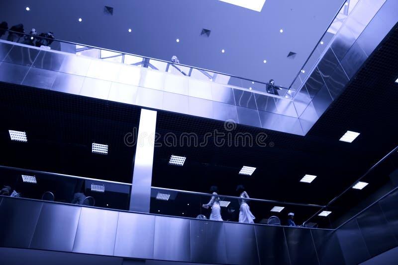 Download Modern business center stock photo. Image of bottom, passenger - 2319392
