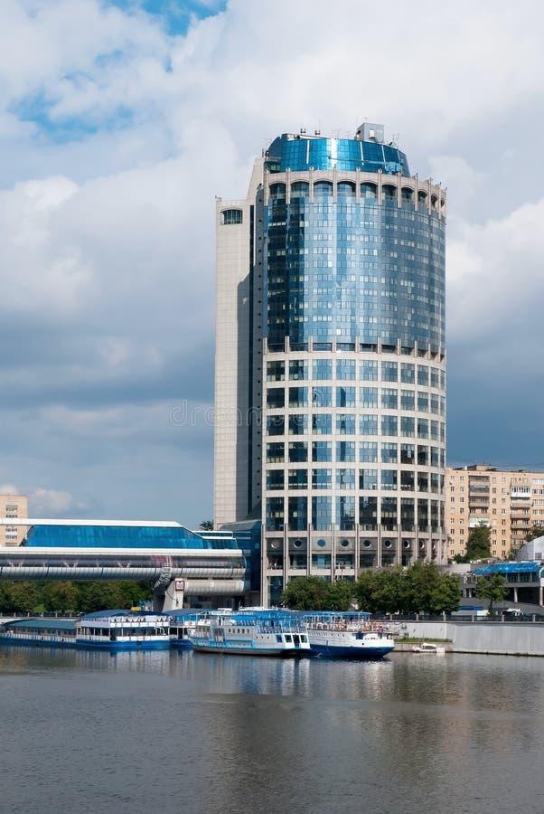 Modern business center. Moscow.