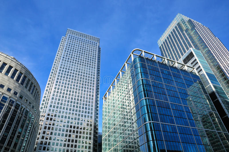 Download Modern business district stock photo. Image of city, glass - 24461360