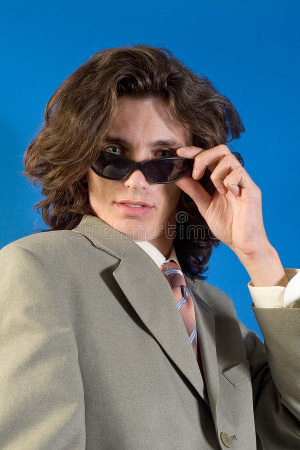 Download Modern business man stock image. Image of sunglasess, adult - 2572273